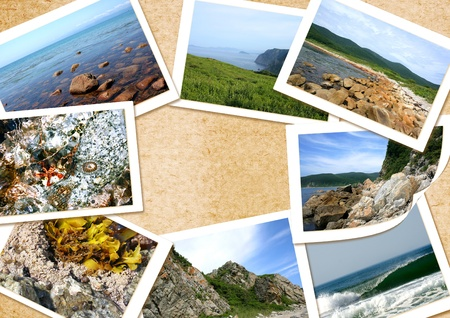 Beautiful collage frame for use  Collage frame serial Stock Photo - 12955376