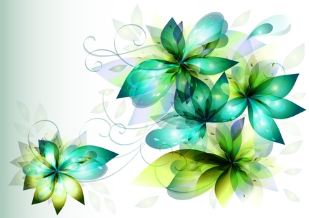 flowers card for your design Stock Vector - 13711089