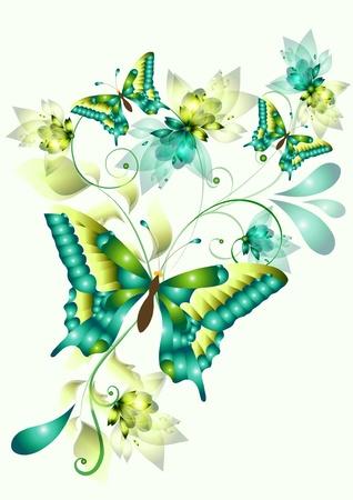 butterflies for your design Vector