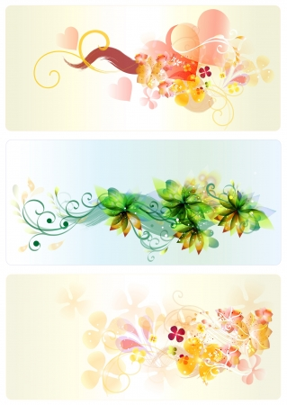 Floral patterned set  beautiful for your design Vector