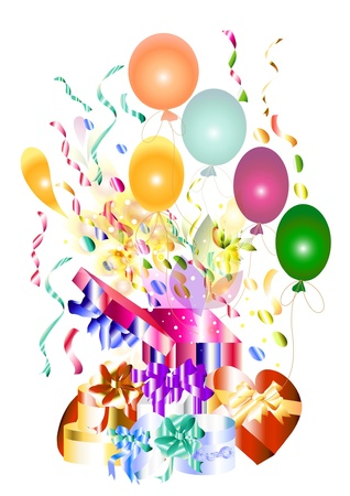 Nice happy birthday card  beautiful for your design  Events     Vector