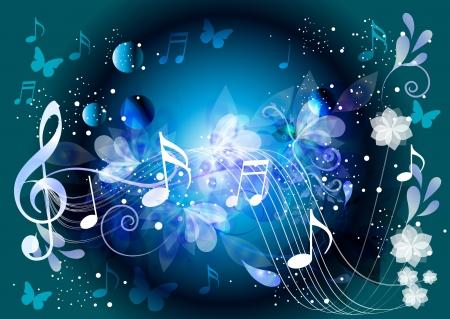 Beautiful music Element. Vector