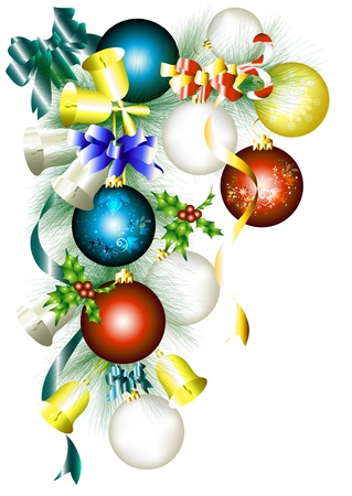 Frame from fir branch for your design  Christmas vectors  Stock Vector - 14167246