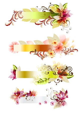 Vector banners set universal for your design  Banner  for design   Vector