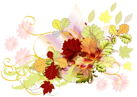 Autumn backdrop how element for your design  Autumn Stock Vector - 14576980
