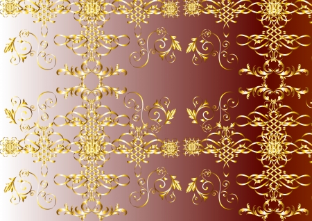 seamless wallpaper for design   Vector