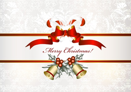 froze: Christmas background