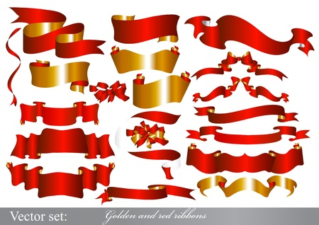 Ribbons set for design Stock Vector - 15426207