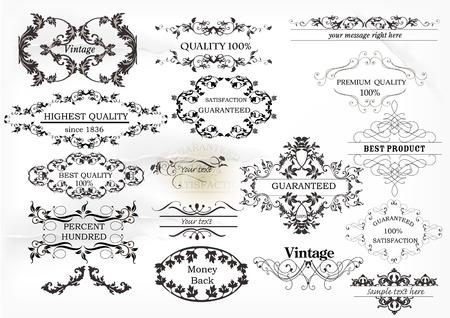 best book: Calligraphic vector
