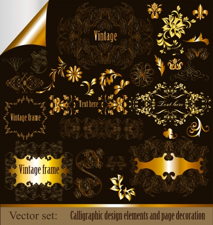 Calligraphic vector Stock Vector - 15878133