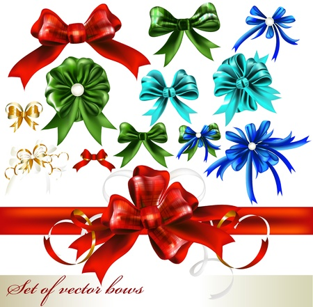 Vector Ribbons set for design Stock Vector - 16393790