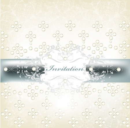 place card: Wedding vector