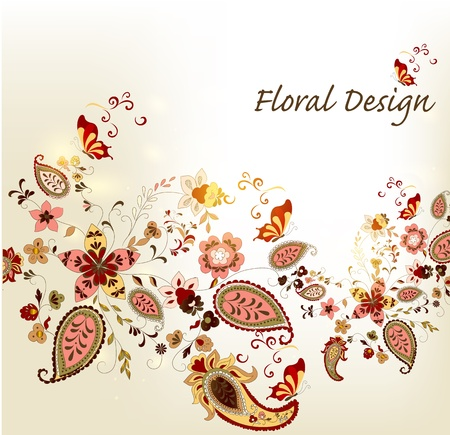 Floral Stock Vector - 16548323