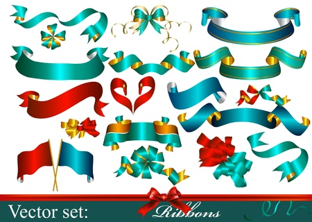 Vector Ribbons set for design Stock Vector - 16766460