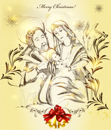santa maria: Christmas  Illustration