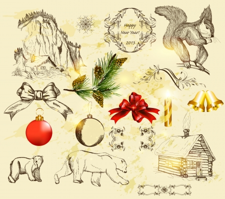 10,155 Victorian Christmas Stock Vector Illustration And Royalty ...