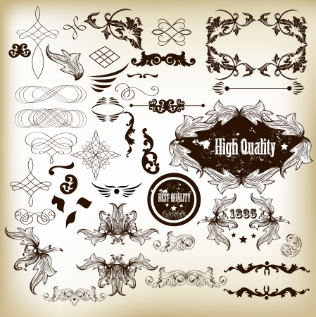Calligraphic Stock Vector - 17048759