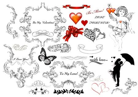 Calligraphic design elements Stock Vector - 17048796