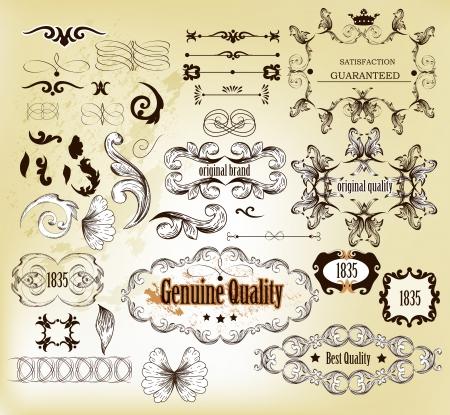 Calligraphic  Stock Vector - 17117296