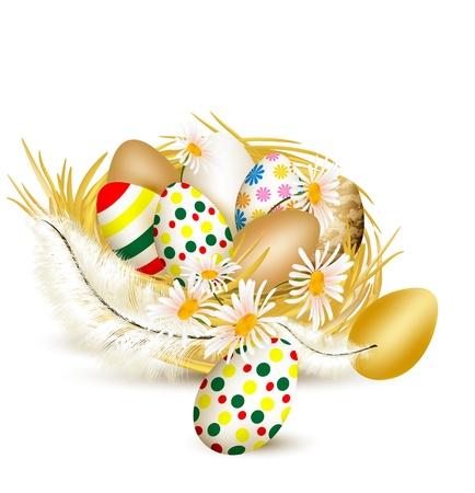easter nest: Easter  Illustration