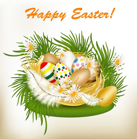 Easter card  Stock Vector - 17117303