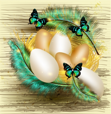 Easter card  Stock Vector - 17117235
