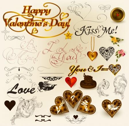 Valentine illustration Stock Vector - 17342017