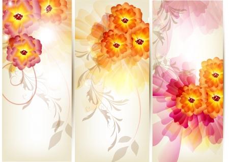 ornate swirls: Floral illustration