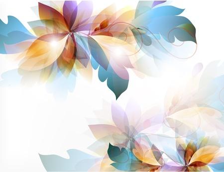 elements of nature: Floral vector Illustration