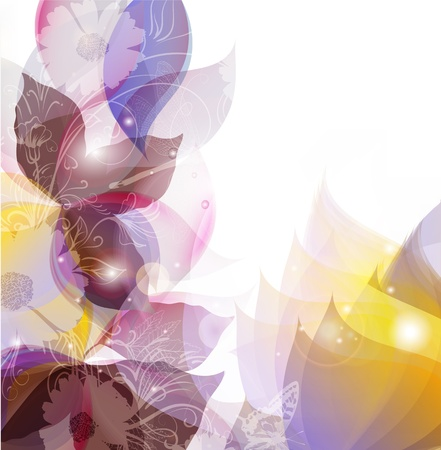 Spring abstract colorful background for  your design Vector