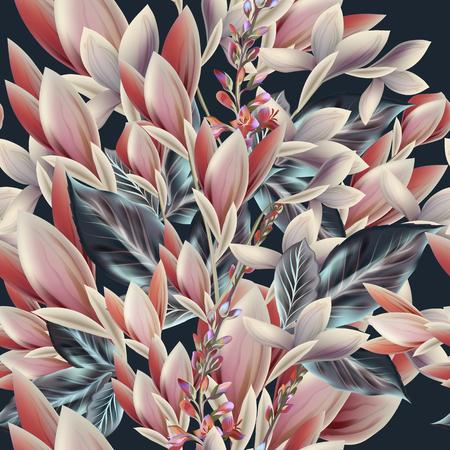 antik: Schöne elegante Vektor-Illustration oder Broschüre mit Feld Blumen