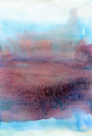 Abstract elegant watercolor background in blue and purple colors Stok Fotoğraf