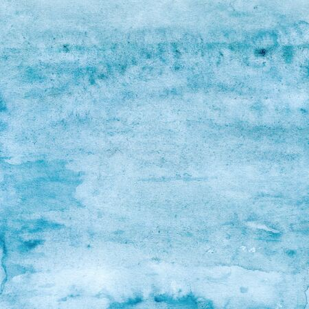 Blue soft watercolor texture, sea, sky, water, ocean, background for design