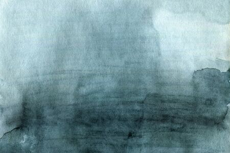 Grunge grey blue green watercolor texture or background in abstract simple style