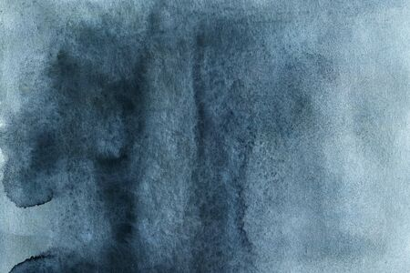 Dark grey blue watercolor abstract texture for design