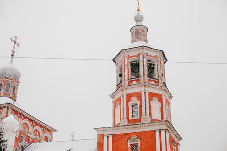 The Orthodox Church in the center of Moscow