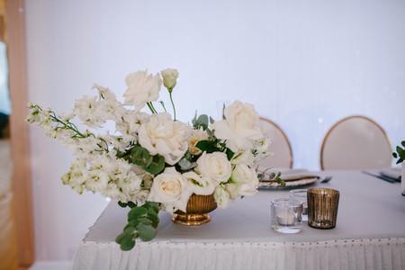 Decoration flower wedding table