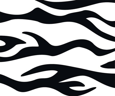 black and white tiger texture horizontal abstract background Foto de archivo - 124535790