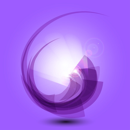 fondos: Abstract purple  background vector illustration light effects Illustration