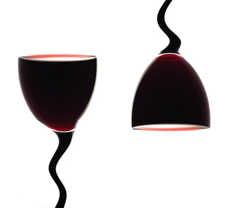 Glass with red Wine. Abstract. Stock Photo - 622064