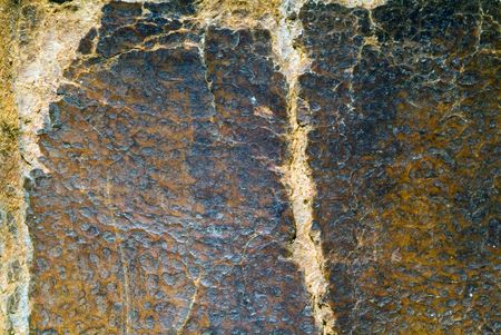 tatter: Old textura de papel con borde tattered