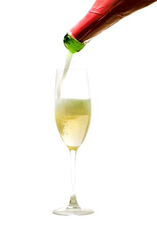 champagne being poured Stock Photo - 903718