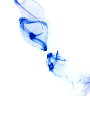 Abstract background made with smoke photo