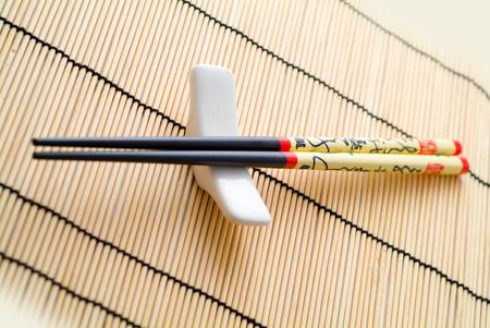 susi: chopsticks on a holder
