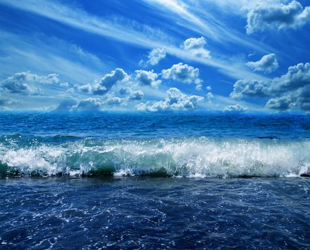 Background of a surface of water.  Stock Photo - 3247126