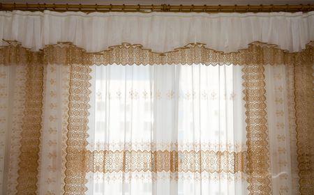 Luxury curtain Stock Photo - 3808928