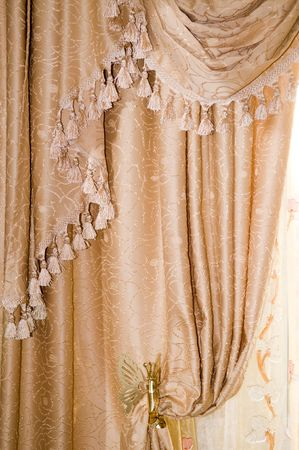 Luxury curtain Stock Photo - 3808942