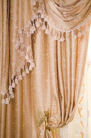 Luxury curtain Stock Photo - 3808942