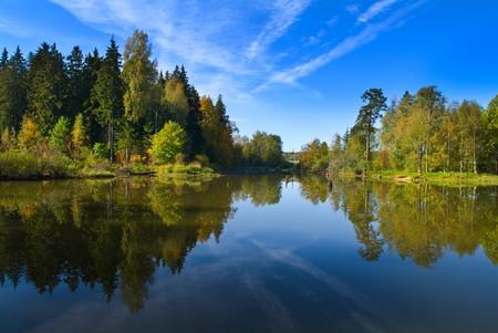 Summer lake Stock Photo - 4247281