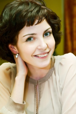 Beautiful Woman smile  Stock Photo - 4464374
